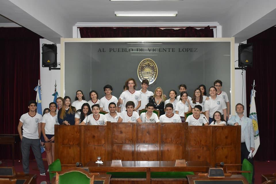 Visita del Colegio Armenio al HCD