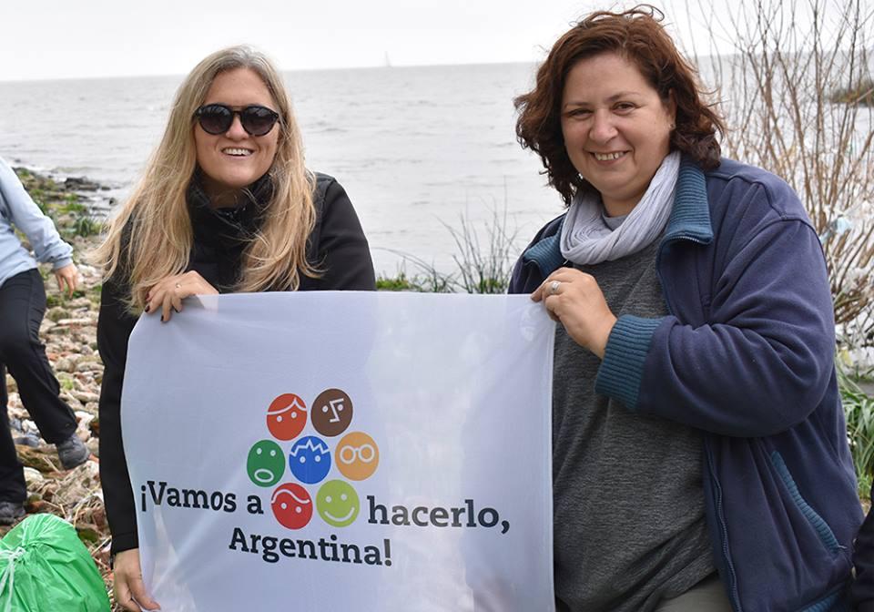 Día Mundial de la Limpieza en Vicente López junto a COA 01