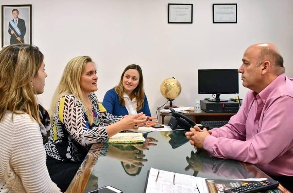 Reunión de trabajo - Escuela de Capacitación y Formación Política