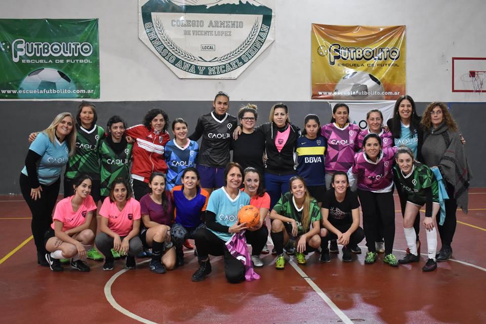 Segundo Congreso de Fútbol Femenino en Vicente López 0