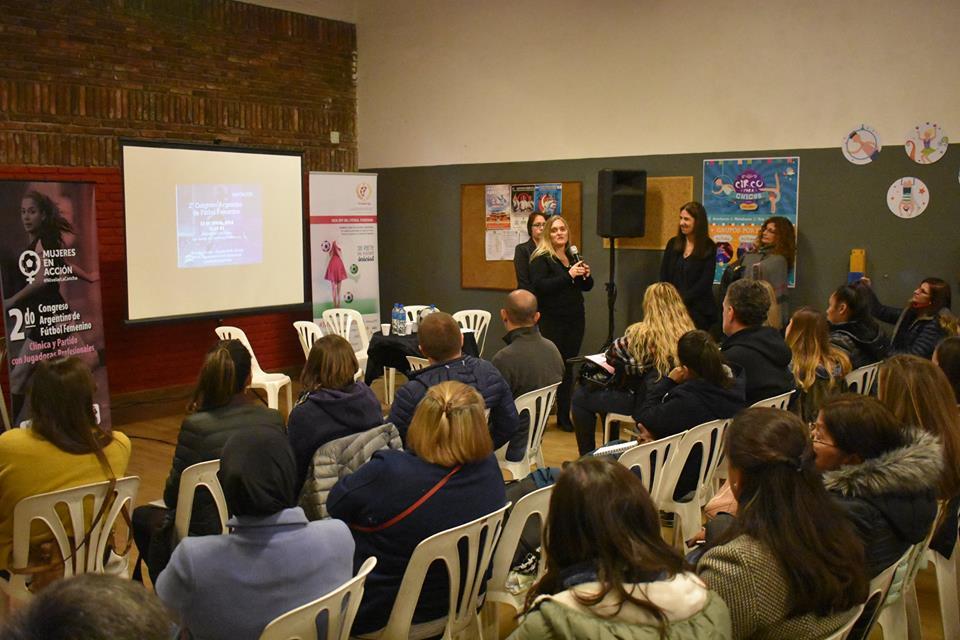 Segundo Congreso de Fútbol Femenino en Vicente López 08