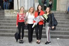 El despacho en la entrega de diplomas de Florencia