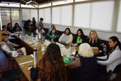 Recibimos a Nelly Minyersky en la Comisión de Mujer en el HCD 00
