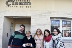 Visitamos la Fundación CISAM en Villa Martelli