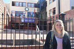 Visitando mi querido colegio armenio