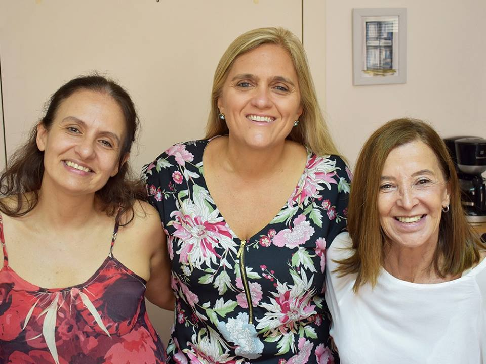 Nos visitó Lucila, Directora del Centro de Día Casa de Todos