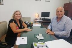 Visitamos a Andrés De leo en La Plata